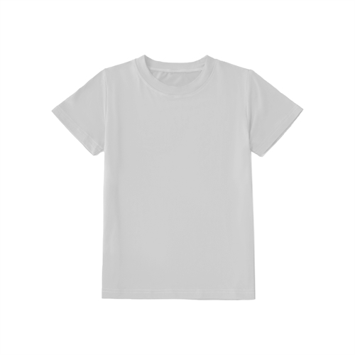 unbedrucktes Kinder-T-Shirt, Oeko-Tex Zertifiziert