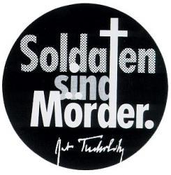 Soldaten sind Mörder - Aufkleber