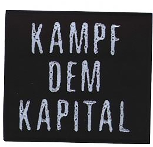 Kampf dem Kapital - Aufnäher