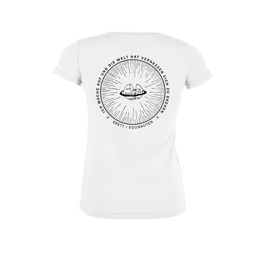 Brett Egonauten Shirt girlie white
