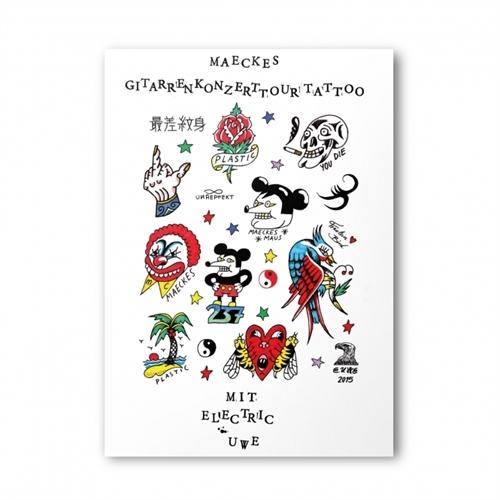 Maeckes Tattoo Poster A3