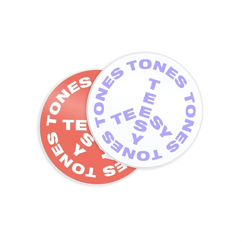 Teesy Tones Sticker Set