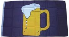 Bierkrug, Fahne