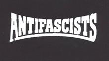 Antifascists - Aufnäher