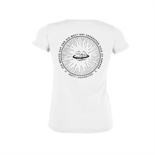 Brett - Egonauten, Girlie-Shirt weiß