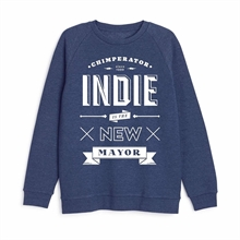 Chimperator - Indie, Sweatshirt navy